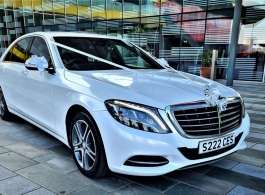 Mercedes S Class for wedding hire in London